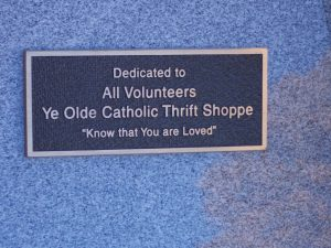 Thrift Shoppe Plaque