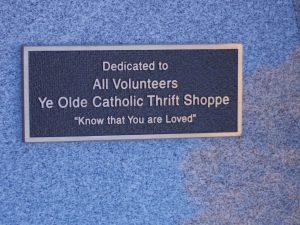 Thrift Shoppe Plaque