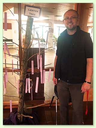 Father Adrian and the Lenten Tree